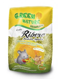 GREEN NATURE GRANULADO CHINCHILLAS RIBERO - 500 GR - TAMAÑO: 500 GR