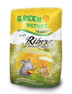 GREEN NATURE GRANULADO CHINCHILLAS RIBERO - 500 GR - TAMAÑO: 500 GR
