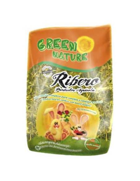 GREEN NATURE NATURAL CONEJOS Y CONEJOS ENANOS RIBERO - 500 GR