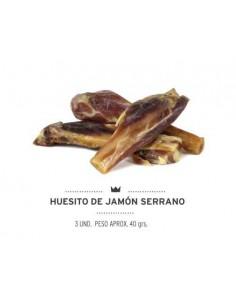 HUESITO DE JAMÓN MEDITERRANEAN NATURAL - 80 GR (3 UNIDADES) - TAMAÑO: 80 GR