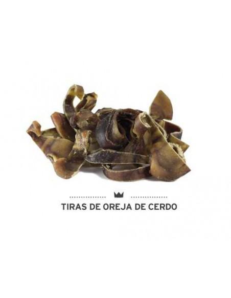 TIRAS DE OREJA DE CERDO MEDITERRANEAN NATURAL