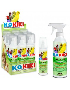 KIKI K.O. INSECTICIDA-ANTIPARASITO PAJAROS - TAMAÑO: 200 ML