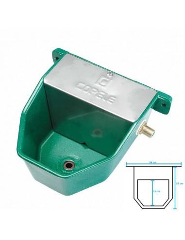 BEBEDERO AUTOMÁTICO ACUACAN METÁLICO COPELE - Color: Verde
