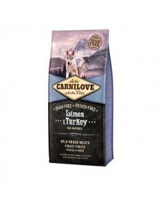 CARNILOVE CANINE PUPPY SALMON PAVO - Tamaño: 1,5 Kg