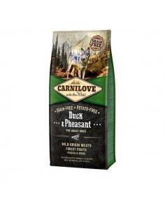 CARNILOVE CANINE ADULT PATO FAISAN - Tamaño: 1,5 Kg