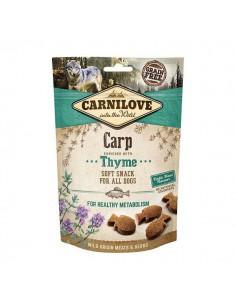 CARNILOVE CANINE SNACK SEMI HUMEDO CARPA TOMILLO - 200 GR - Pack: 1 x 200 gr
