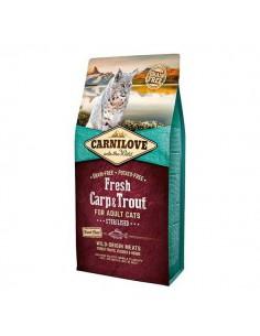 CARNILOVE FELINE ADULT FRESH CARPA TRUCHA - Tamaño: 2 Kg