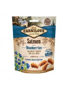 CARNILOVE CANINE CRUNCHY SNACK SALMON ARANDANOS - 200 GR - Pack: 1 x 200 gr