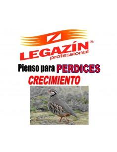 PIENSO LEGAZÍN PERDICES CRECIMIENTO - 20 KG