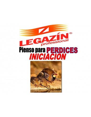 PIENSO LEGAZÍN PERDICES INICIACIÓN - 20 KG - Tamaño: 20 Kg