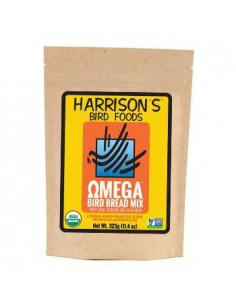 HARRISONS BIRD BREAD OMEGA - 323 GR