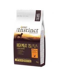 TRUE INSTINCT HIGH MEAT POLLO CAMPERO - 12 KG - Tamaño: 12 Kg