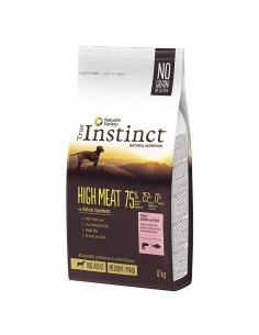 TRUE INSTINCT HIGH MEAT SALMÓN CON ATÚN - 12 KG - Tamaño: 12 Kg