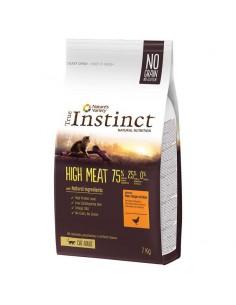 TRUE INSTINCT HIGH MEAT POLLO CAMPERO PARA GATOS - 7 KG - Tamaño: 7 Kg