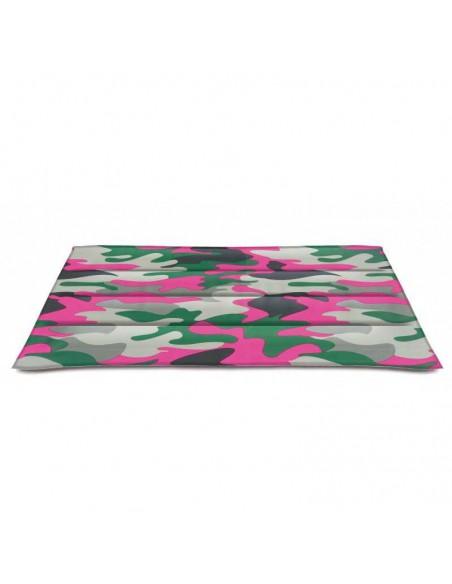 CAMA REFRESCANTE CAMUFLAJE ROSA NAYECO - Tamaño: 50 x 40 cm - 1