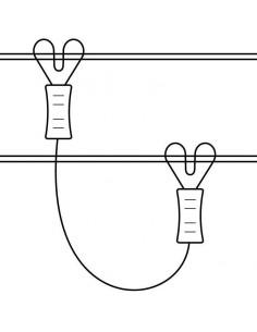 CABLE CONEXIÓN ENTRE LINEAS COPELE (2 UNIDADES)