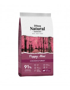 DIBAQ NATURAL MOMENTS PUPPY MINI - 3 KG
