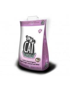 MYTA MY-CAT PERFUMADA ARENA ABSORVENTE PARA GATOS - TAMAÑO: 5 KG