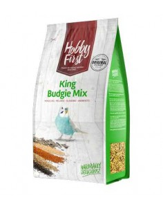 HOBBY FIRST KING BUDGIE MIX PERIQUITOS - 1 KG