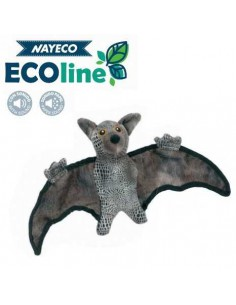 PELUCHE BAT JURASIC RECICLADO NAYECO - 20 CM - Color: Marrón