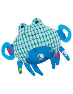 PELUCHE CANGREJO PACIFIC RECICLADO NAYECO - 20 CM - Color: Azul