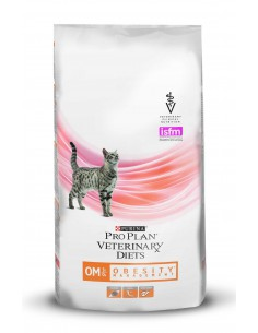 PRO PLAN VETERINARY DIETS FELINE OM OBESITY MANAGEMENT - TAMAÑO: 1.5 KG