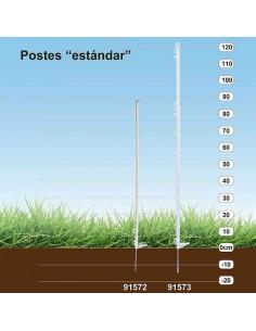 POSTE PLÁSTICO ESTÁNDAR COPELE (10 UNIDADES)