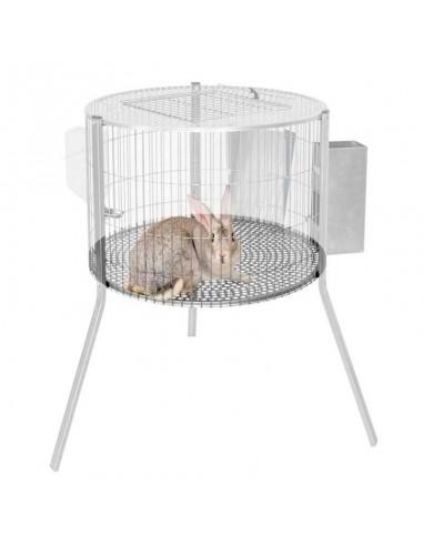 Suelo de Chapa para Jaula de Conejos Macho