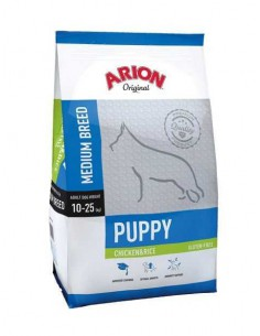 ORIGINAL PUPPY MEDIUM CHICKEN & RICE TAMAÑO 3 KG