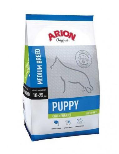 ARION ORIGINAL PUPPY MEDIUM CHICKEN & RICE - TAMAÑO: 3 KG