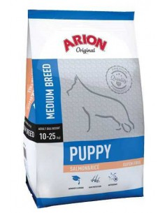 ORIGINAL PUPPY MEDIUM SALMON & RICE TAMAÑO 3 KG