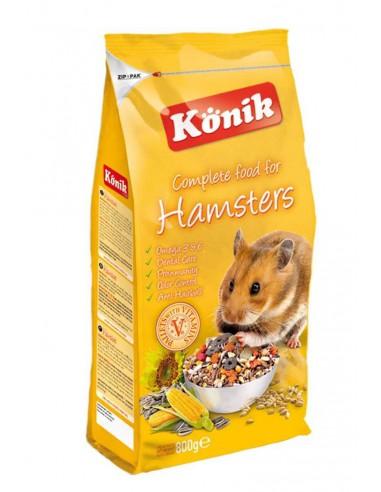 KONIK HAMSTERS - TAMAÑO: 800 GR