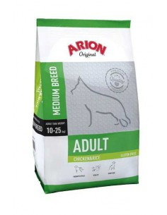 ARION ORIGINAL ADULT MEDIUM CHICKEN & RICE - TAMAÑO: 3 KG