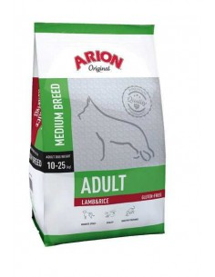 ARION ORIGINAL ADULT MEDIUM LAMB & RICE - TAMAÑO: 3 KG