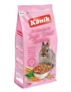 KONIK JUNIOR DWARF RABBIT TAMAÑO 800 GR