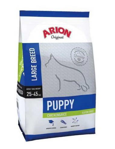 ARION ORIGINAL PUPPY LARGE CHICKEN & RICE - TAMAÑO: 3 KG