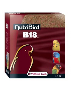 NUTRIBIRD PERIQUITOS B18 - TAMAÑO: 4 KG